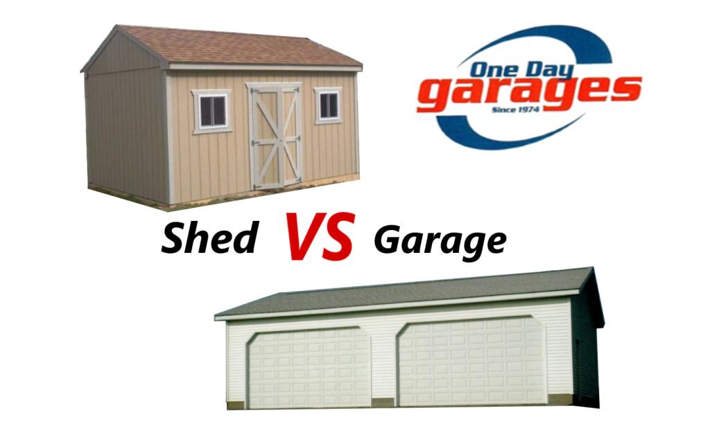Shed vs. Garage